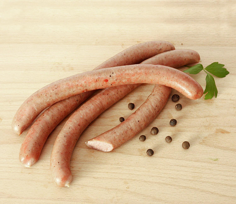 parówki kaszubskiemięso z szynki bardzo drobno mielone, w naturalnej cienkiej osłonce, delikatnie wędzone, smakiem przypominają dawne czasy.